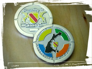 Geocaching in Baden Geocoin