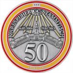 Eventcoin zum 50. Karlsruher GC-Stammtisch