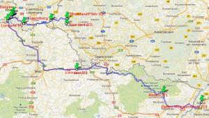 Tour durch 7 Regionen