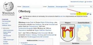 Koordinaten bei Wikipedia