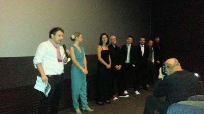Regisseur Thomas Klein dankt dem gesamten Filmteam