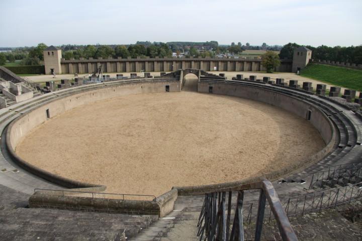 Xanten Amphitheater im APX