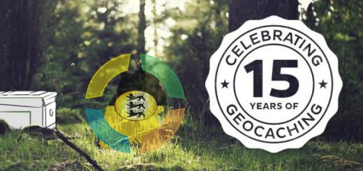Celebrating 15 Years of Geocaching / 15 Jahre Geocaching