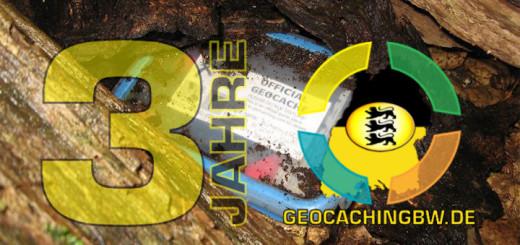 3 Jahre GeocachingBW