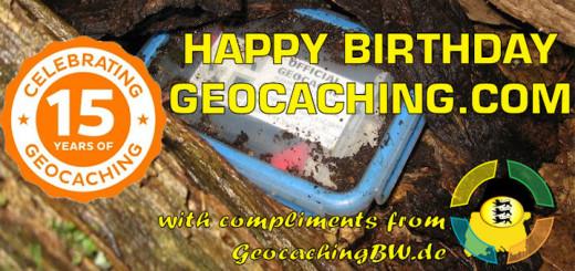 Happy Birthday geocaching.com