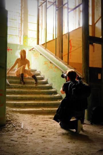 Cosplay Beelitz Heilstätten 01