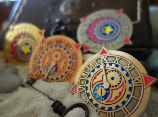 Zodiac-Clockklein