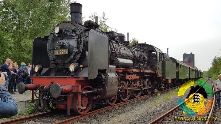 Glück Auf Zollverein Dampfzug