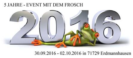 Event mit dem Frosch