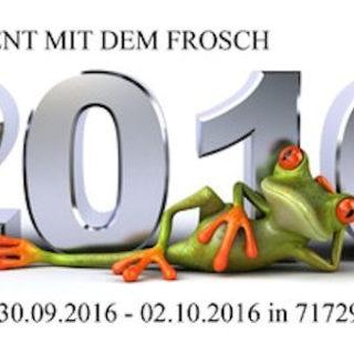 5 Jahre Event mit dem Frosch