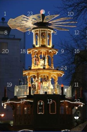 1. Karlsruher Geocaching-Adventskalender
