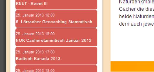 Aktuelle Übersicht der Events in Baden