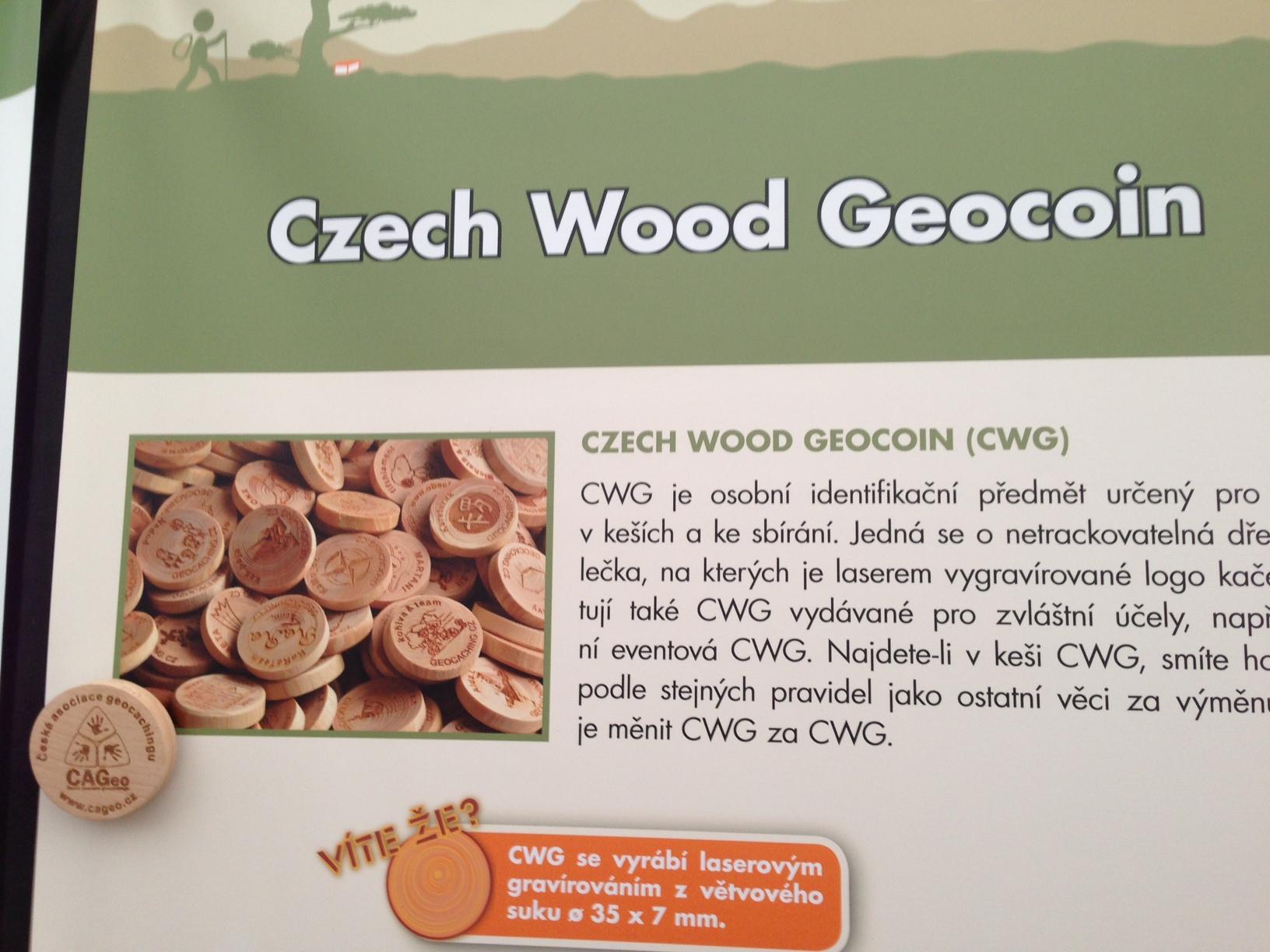 tschechische Holzcoins