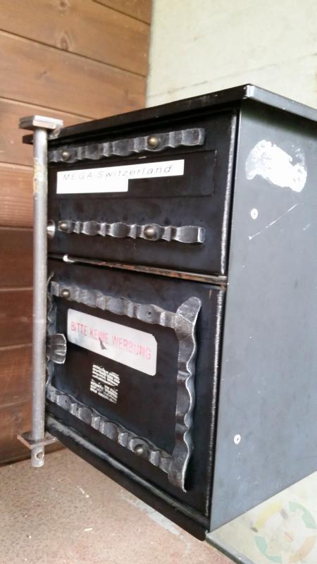 Die Letterbox zum MegaCH