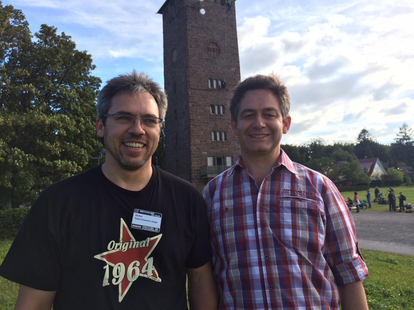 Stefan und Amtsleiter