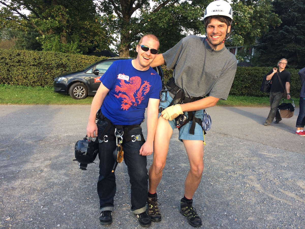 sexy Kletterer