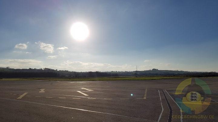 Kerry Airport im Sonnenschein
