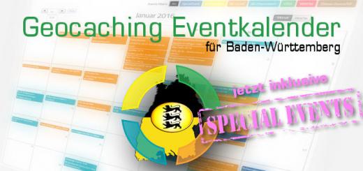 Geocaching Eventkalender Special Events Baden-Württemberg