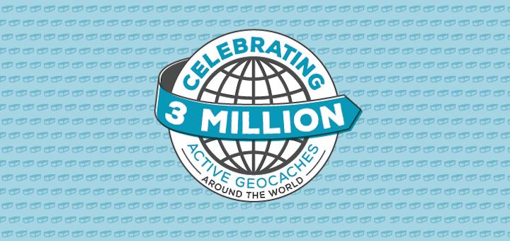 3 Millionen Geocaches