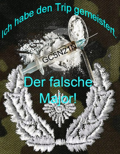 Der falsche Major - a Geocache by Finkenpiraten