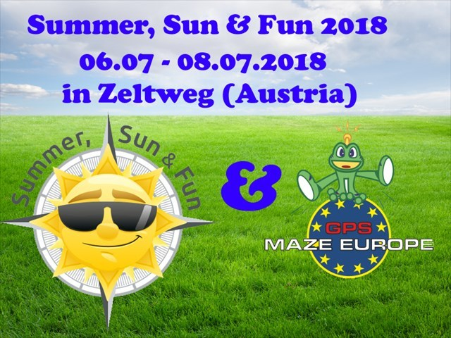 Summer, Sun & Fun - GPS MAZE EUROPE