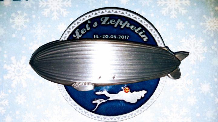 Let's Zeppelin Geocoin - Charity