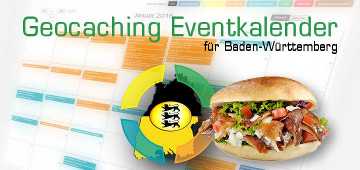 Geocaching Eventkalender Baden-Württemberg Dönerstag
