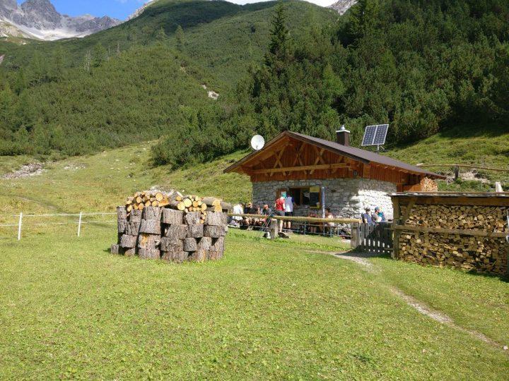 Zu Fuß über die Alpen - Tag 3 - Oberlochalm