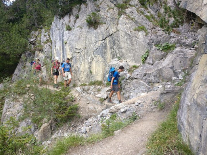 Zu Fuß über die Alpen - Tag 3