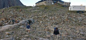 Zu Fuß über die Alpen - Tag 5 - Abmarsch Hütte