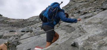 Zu Fuß über die Alpen - Tag 5 - Abstieg ins Oetztal