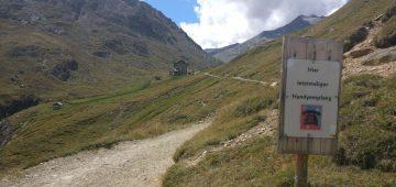 Zu Fuß über die Alpen - Tag 5 - Kein Handy Empfang