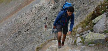 Zu Fuß über die Alpen - Tag 5