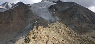 Zu Fuß über die Alpen - Tag 5 - Ötzi Fundstelle