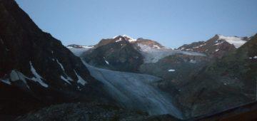 Zu Fuß über die Alpen - Tag 5 - Pitztaler Gletscher