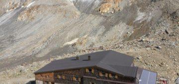 Zu Fuß über die Alpen - Tag 5 - Similaun-Huette