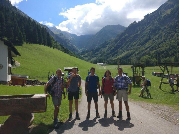 Zu Fuß über die Alpen - Tag 1